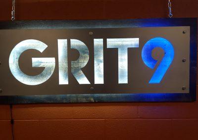 Grit9 Sign